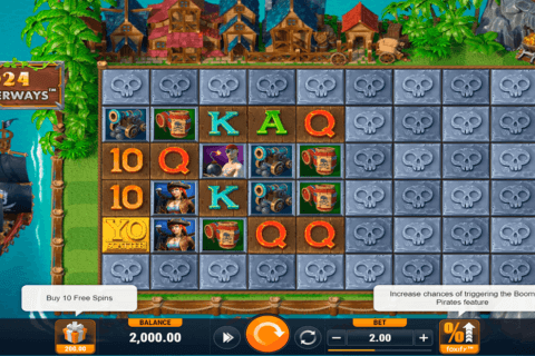 BOOM PIRATES FOXIUM CASINO SLOTS