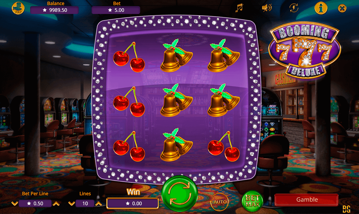 BOOMING 7 DELUXE BOOMING GAMES CASINO SLOTS