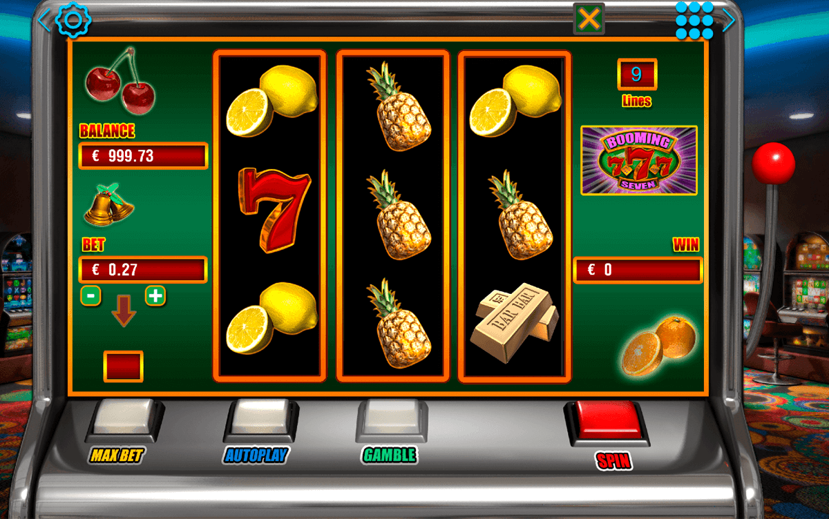 booming seven booming games casino slots
