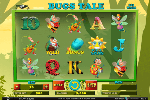 BUGS TALE SPINOMENAL CASINO SLOTS