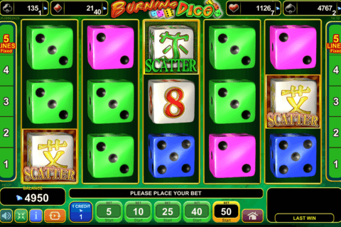 BURNING DICE EGT CASINO SLOTS
