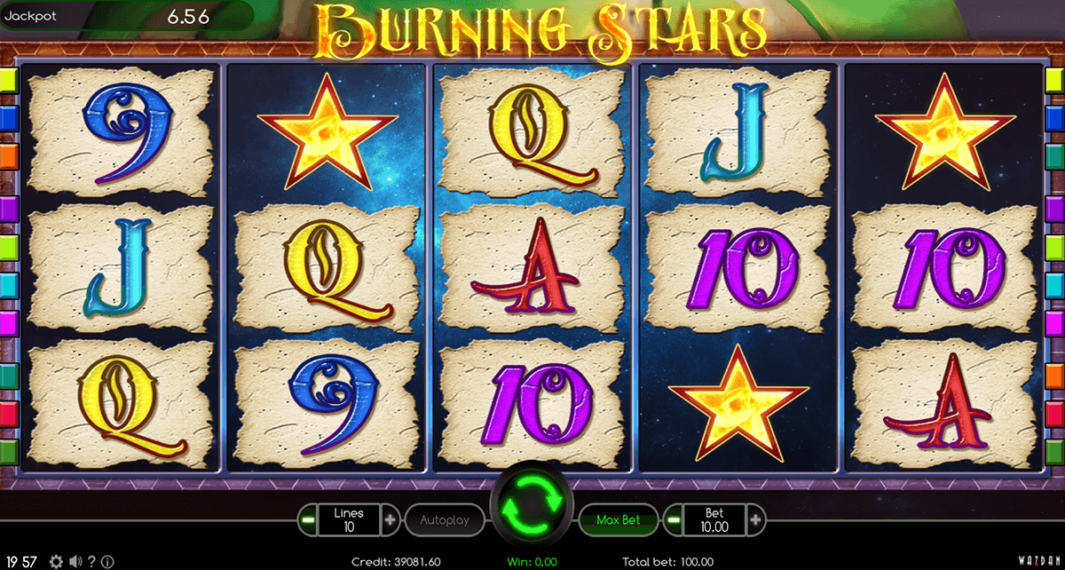 BURNING STAR WAZDAN CASINO SLOTS