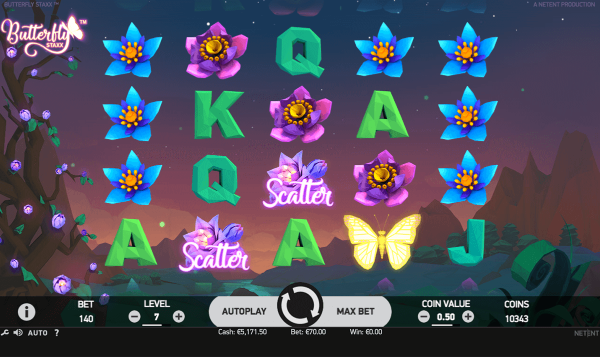 butterfly staxx netent casino slots