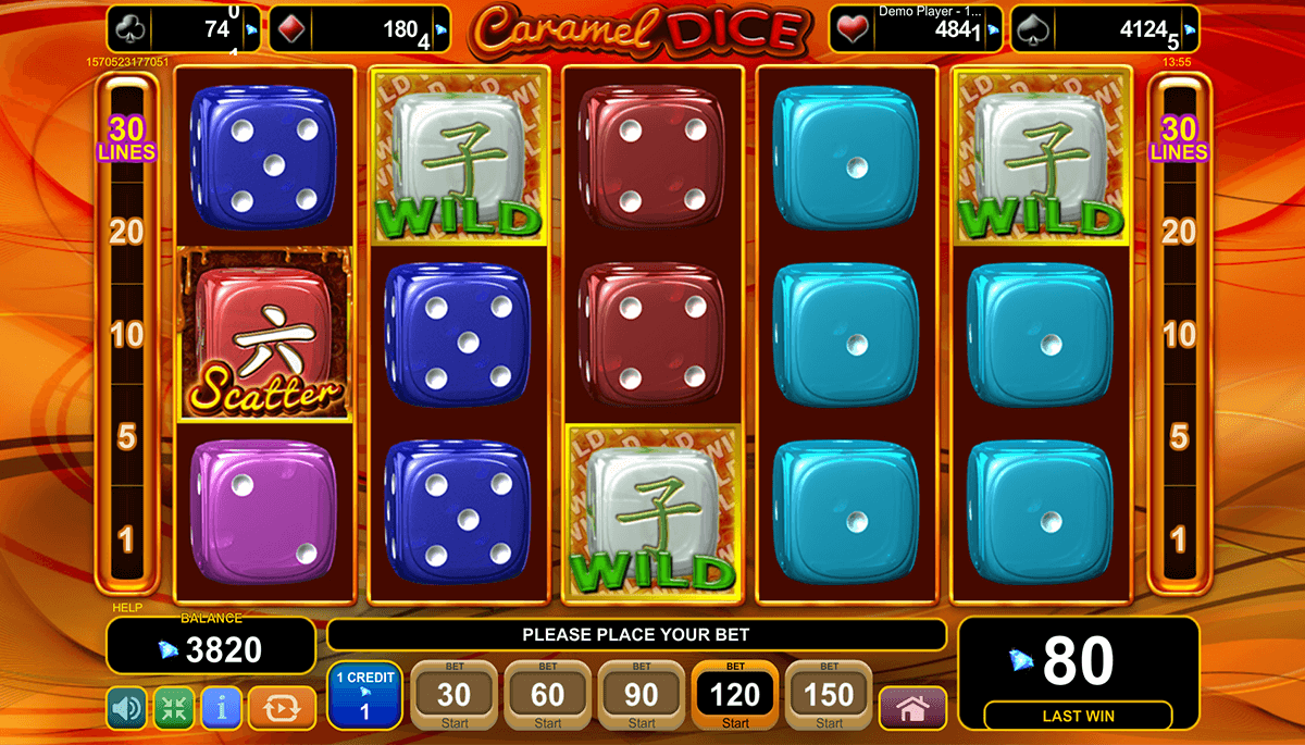Caramel Dice Slot - Play Online for Free or Real Money