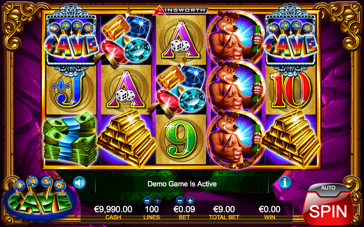 cash cave ainsworth casino slots