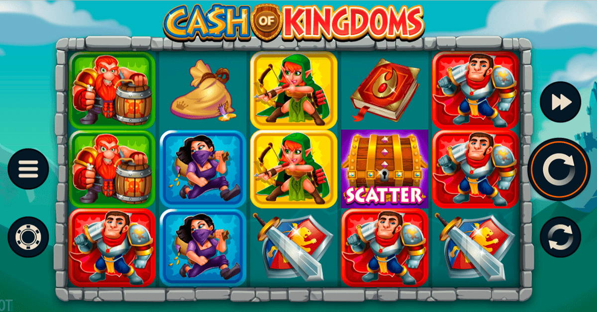 cash of kingdoms microgaming casino slots