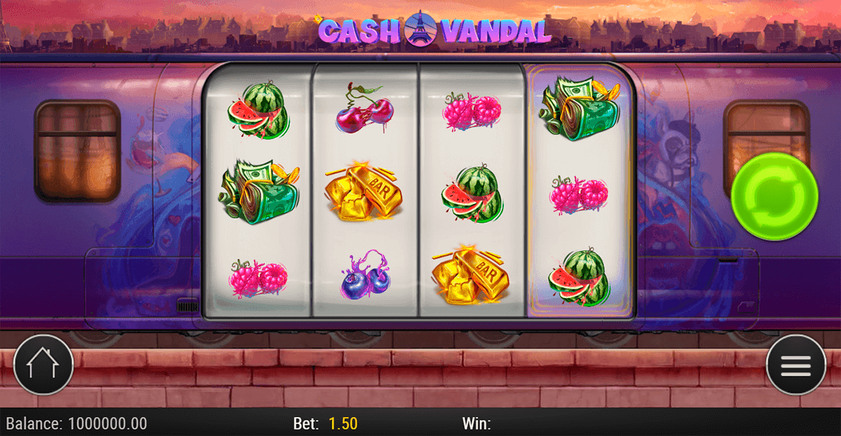 cash vandal playn go casino slots