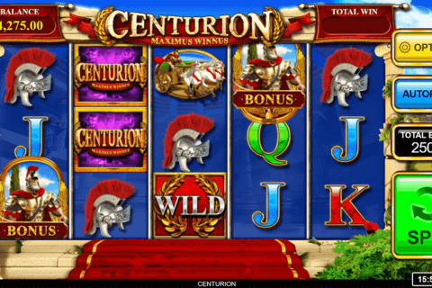 CENTURION INSPIRED GAMING CASINO SLOTS