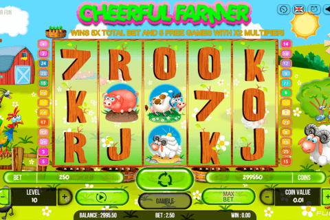 CHEERFUL FARMER FUGASO CASINO SLOTS