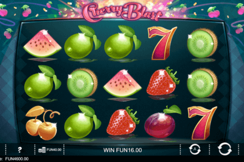 CHERRY BLAST IRON DOG CASINO SLOTS