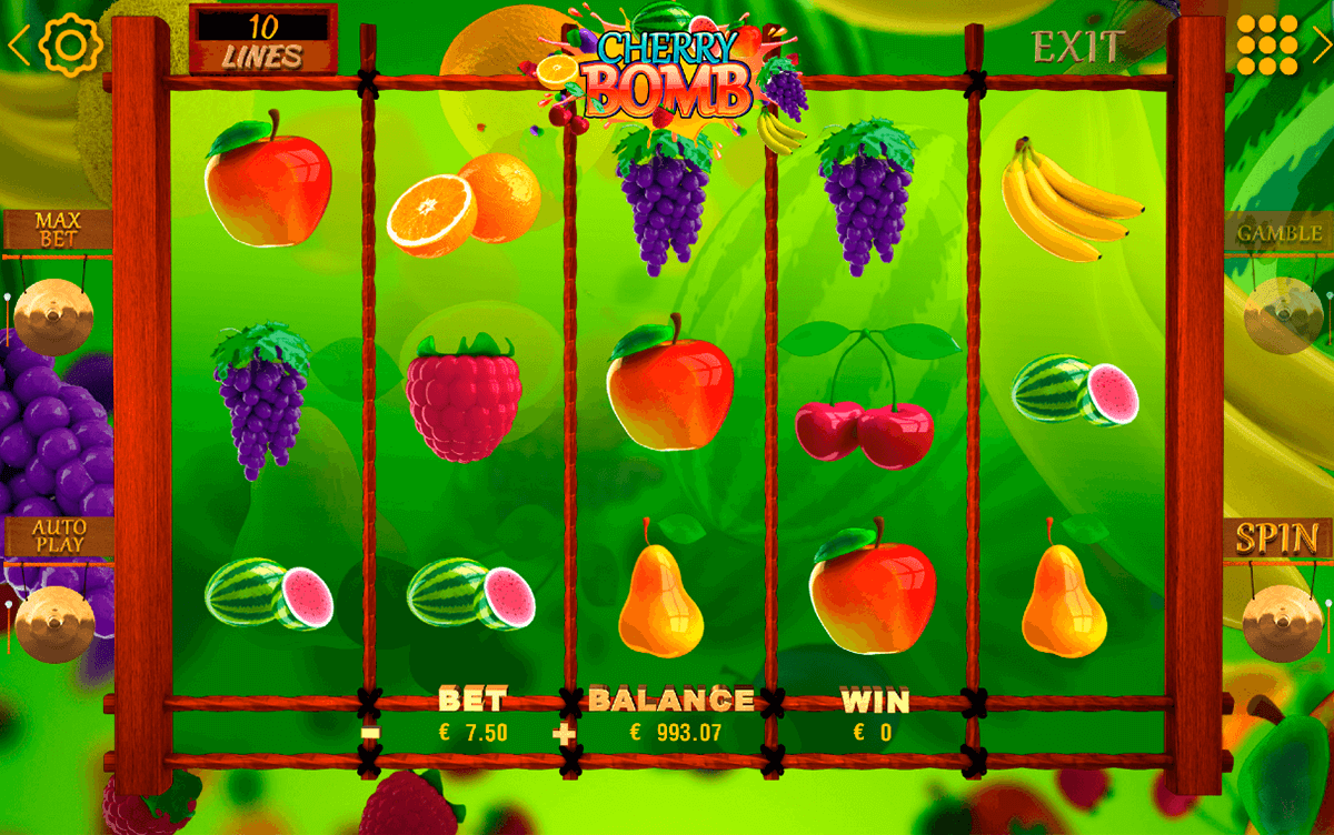 Free Atomic Fruit Game and Real Money Casino Play