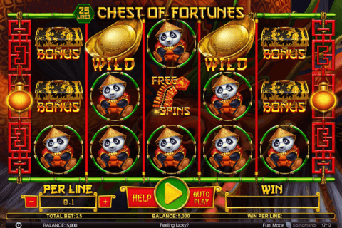 chest of fortunes spinomenal casino slots