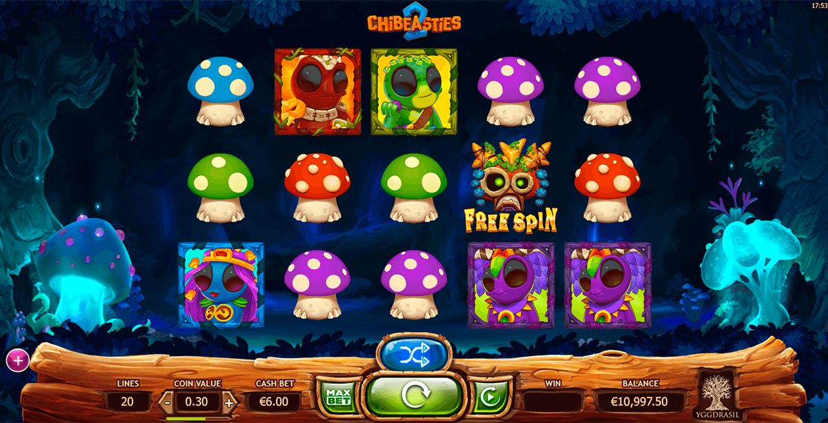 Chibeasties Slot Machine – Play Free Yggdrasil Gaming Slots