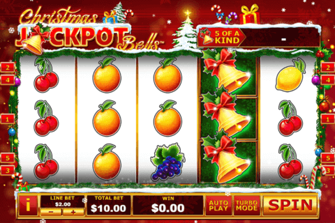 CHRISTMAS JACKPOT BELLS PLAYTECH CASINO SLOTS