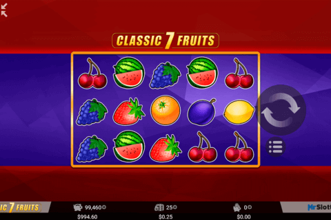 classic 7 fruits mrslotty casino slots