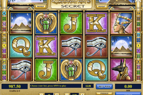 cleopatras secret tom horn casino slots
