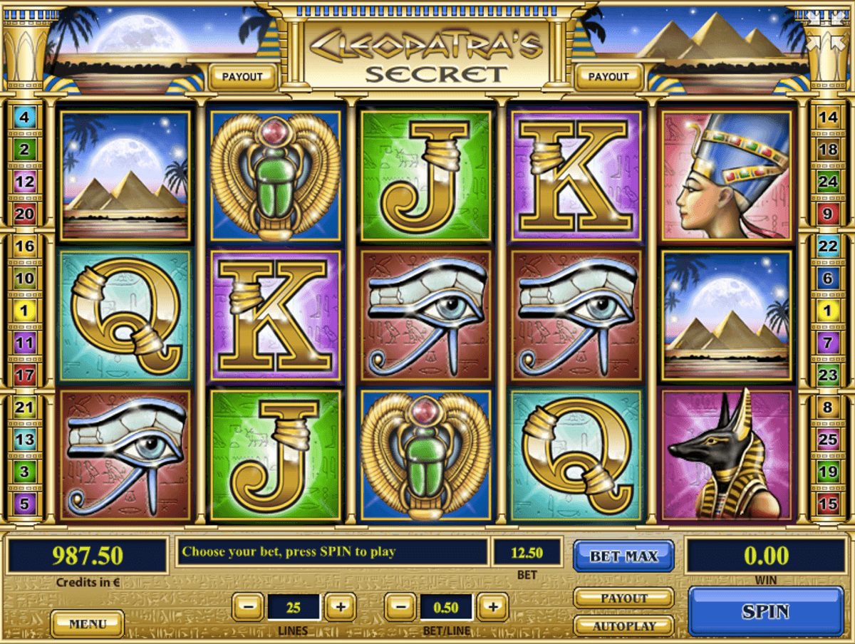 Cleopatras Secret Slot Machine Online ᐈ Tom Horn™ Casino Slots