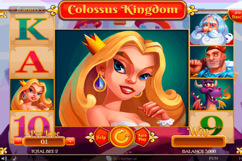COLOSSUS KINGDOM SPINOMENAL CASINO SLOTS