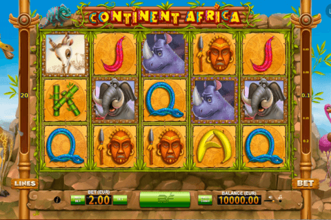 CONTINENT AFRICA BF GAMES CASINO SLOTS