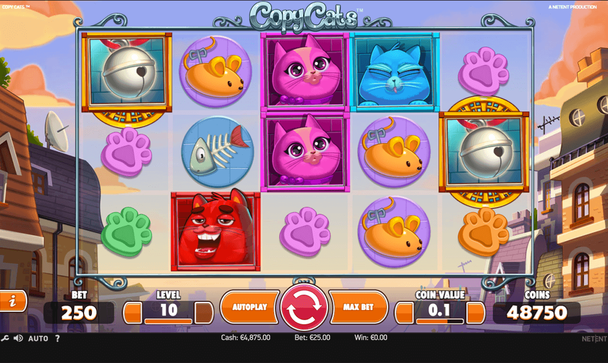 copy cats netent casino slots
