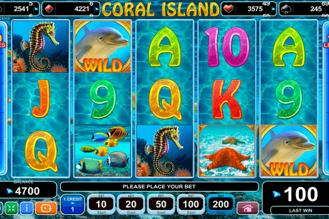 CORAL ISLAND EGT CASINO SLOTS