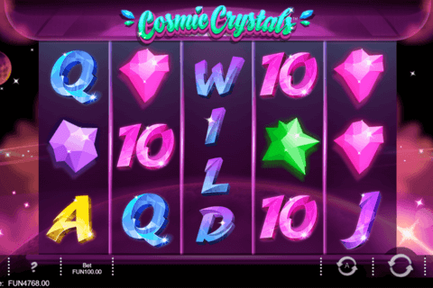 COSMIC CRYSTALS IRON DOG CASINO SLOTS