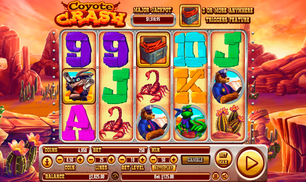 Spiele Coyote Crash - Video Slots Online
