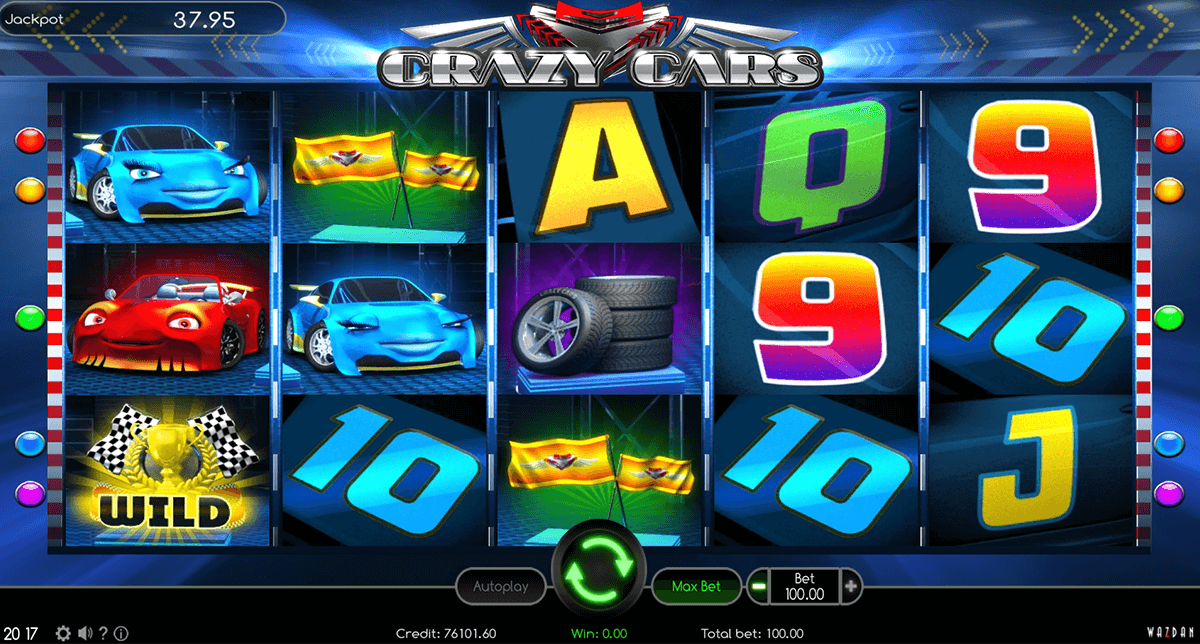 Crazy Cars Slot Machine Online ᐈ Wazdan Casino Slots