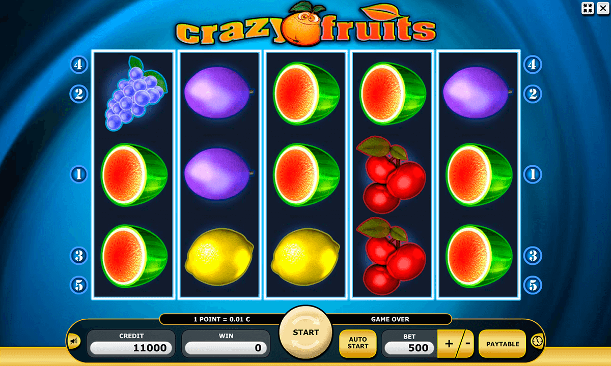 Crazy Fruits Slot - Free Online Atronic Slots Game