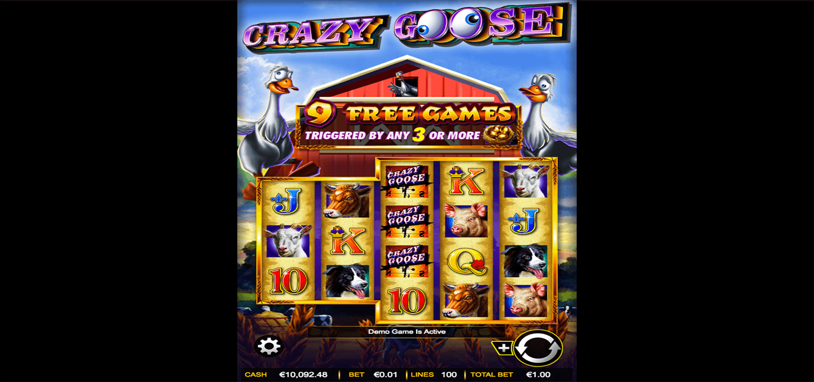 CRAZY GOOSE AINSWORTH CASINO SLOTS