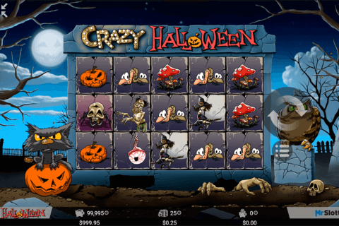 crazy halloween mrslotty casino slots 480x320