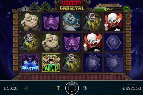 CREEPY CARNIVAL NOLIMIT CITY CASINO SLOTS