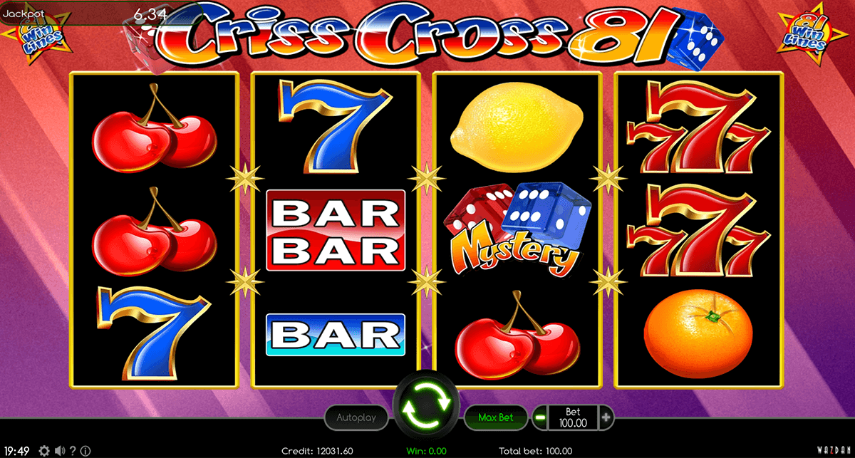 CRISS CROSS 81 WAZDAN CASINO SLOTS