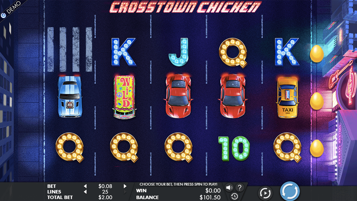 CROSSTOWN CHICKEN GENESIS CASINO SLOTS