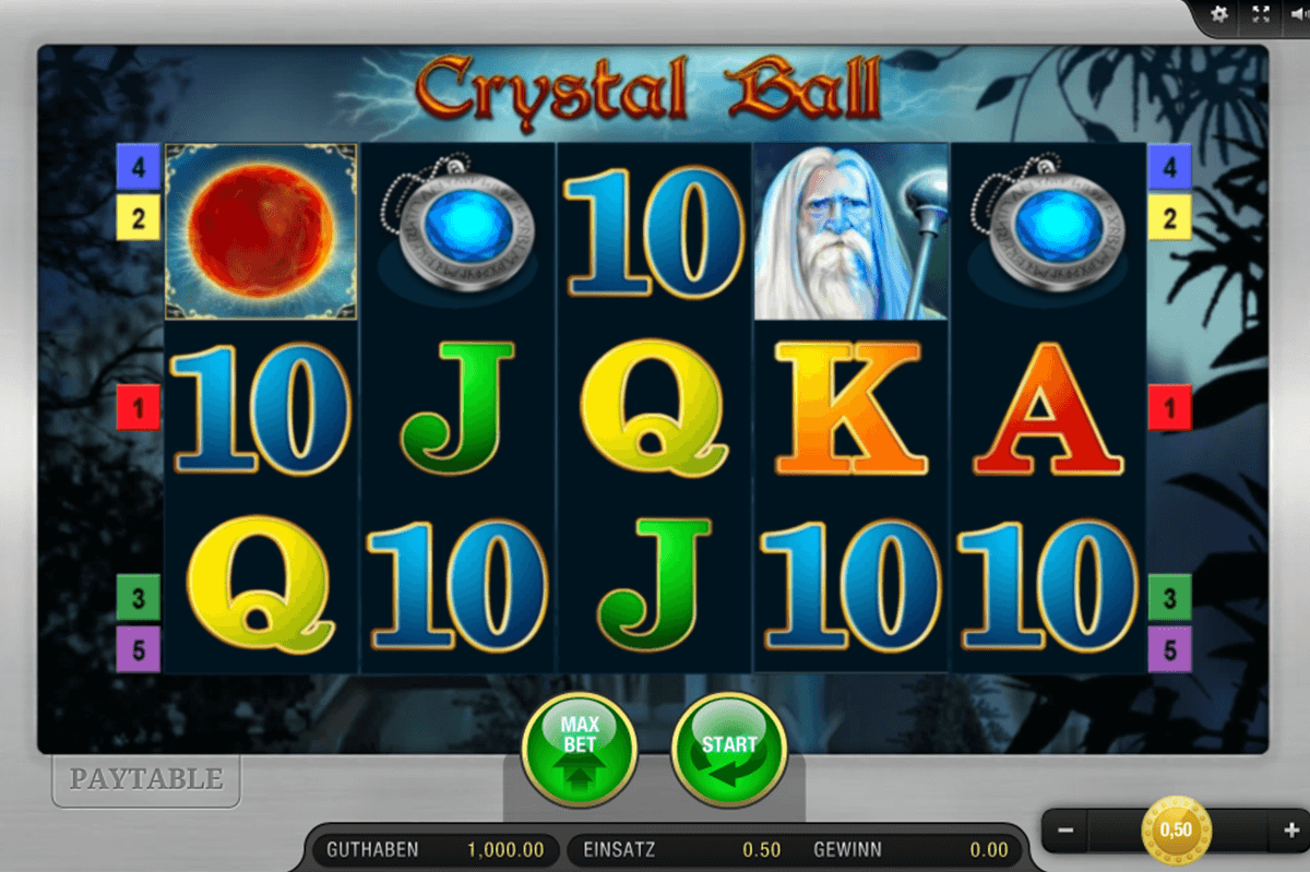 CRYSTAL BALL BALLY WULFF CASINO SLOTS