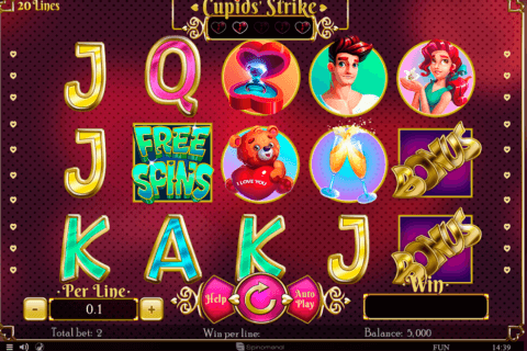 CUPIDS STRIKE SPINOMENAL CASINO SLOTS