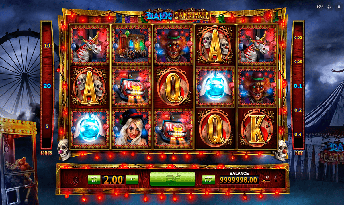 Look through the BF Games list at to find Dark Carnivale gaming slot! As usual, you can try this slot and many other ones without bothering yourself with the registration procedure! If you look for BF Games online slots real money no deposit winnings, check the list of the trustworthy casinos compiled by Slots Up team for you!4/5(5).Türkoğlu
