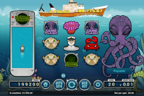 DEEP BLUE MAGNET GAMING CASINO SLOTS