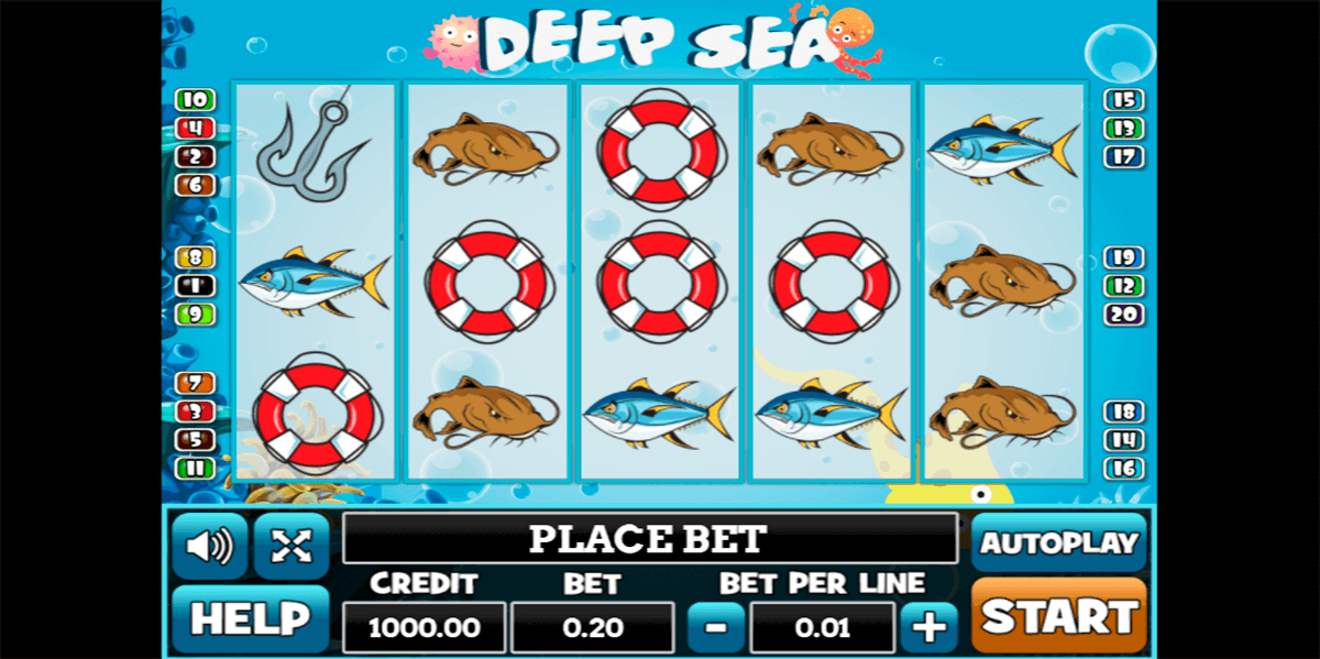 Play The Free Slot Under Water Diving With No Download