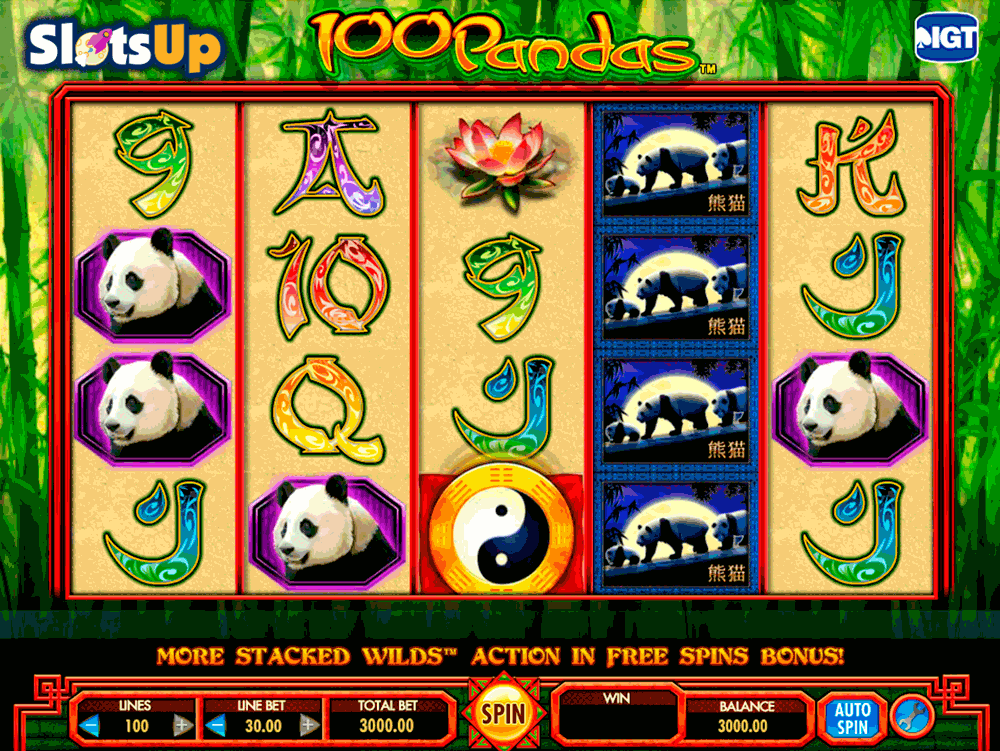 Panda Slot Machine - Play Online & Win Real Money