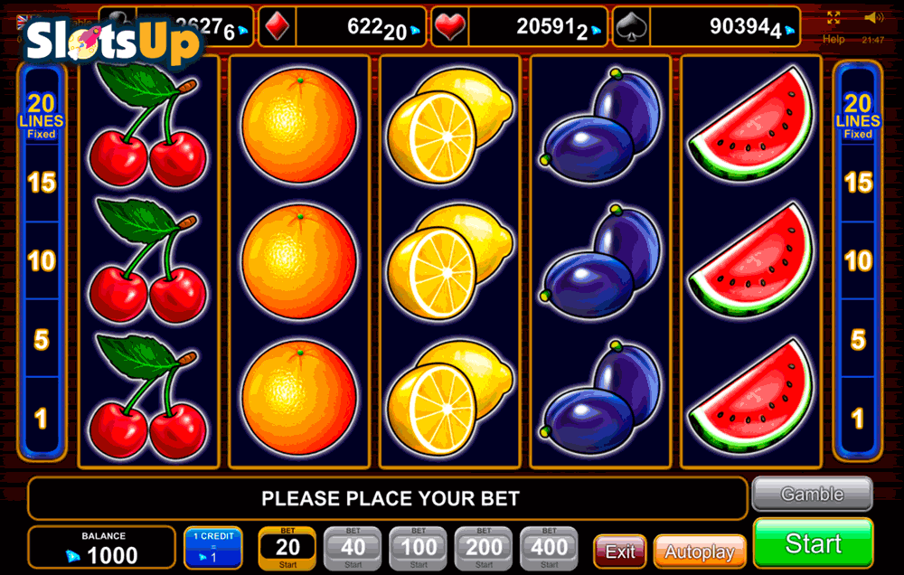 20 Super Hot Slot Machine Online ᐈ EGT™ Casino Slots