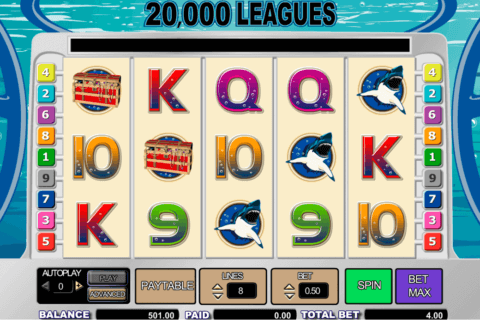 20000 LEAGUES AMAYA CASINO SLOTS