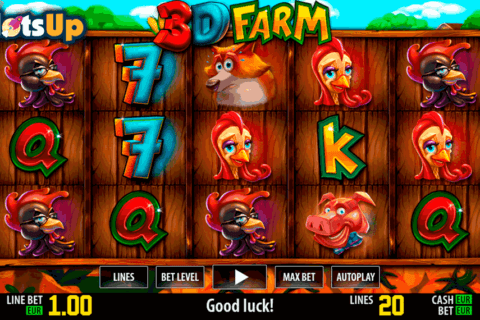 3d farm hd world match casino slots