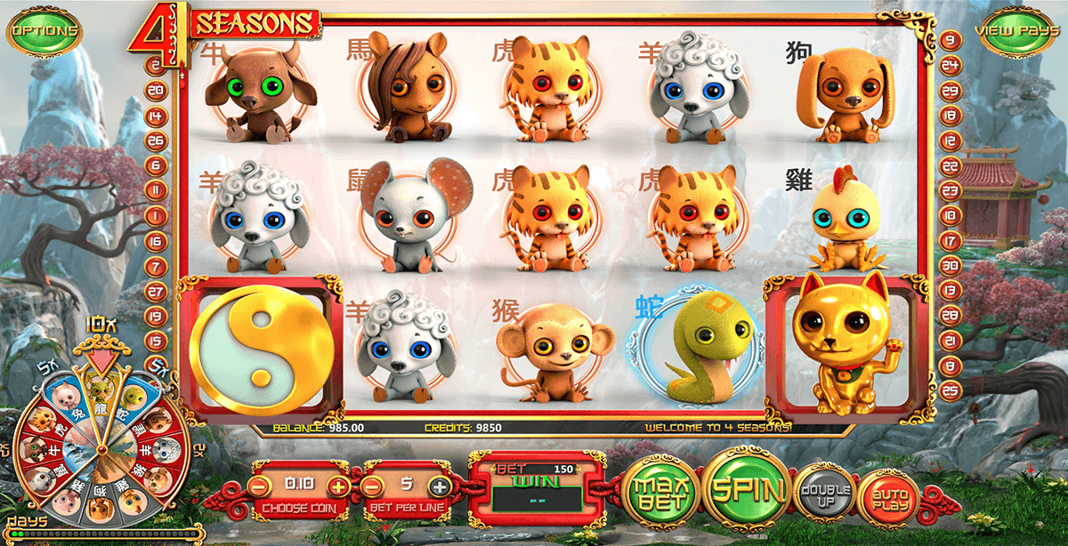 4 SEASONS BETSOFT CASINO SLOTS