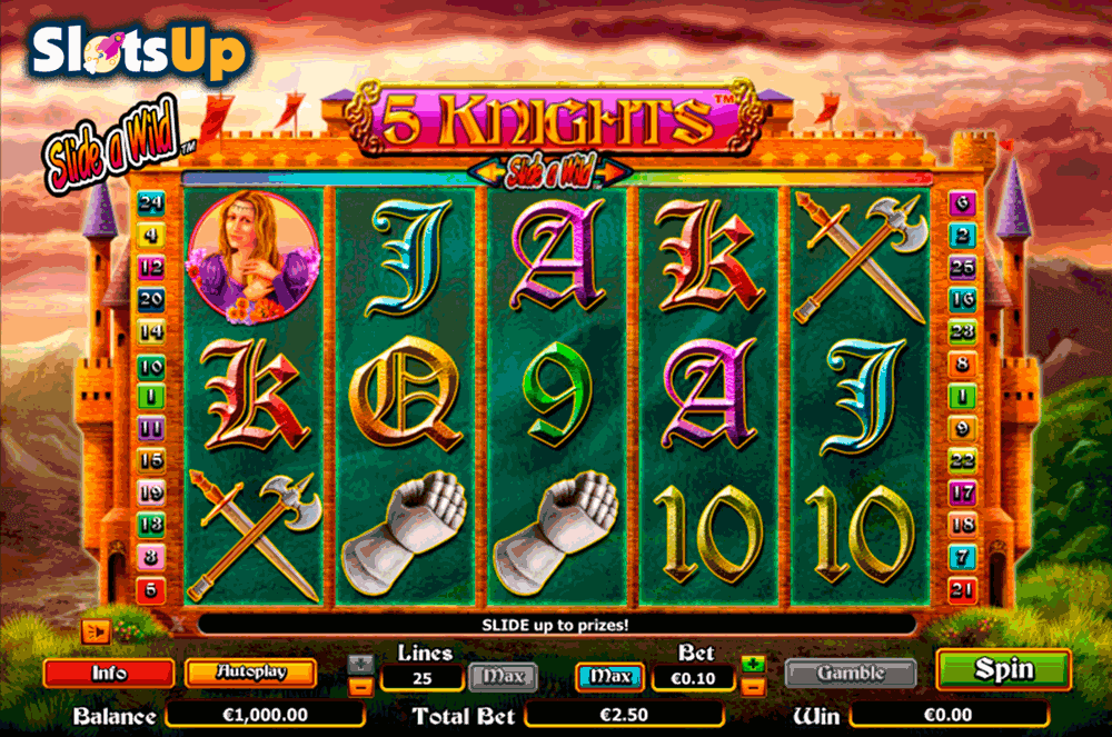 Valiant Knight™ Slot Machine Game to Play Free in WMS Gamings Online Casinos