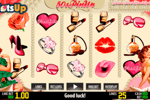 50s pinup hd world match casino slots 480x320
