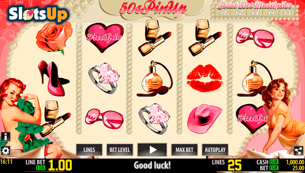 50s PinUp™ Slot Machine Game to Play Free in WorldMatchs Online Casinos