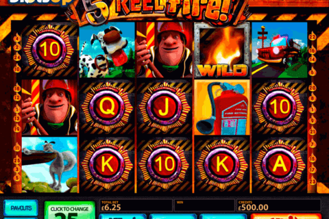 5reel fire multislot casino slots