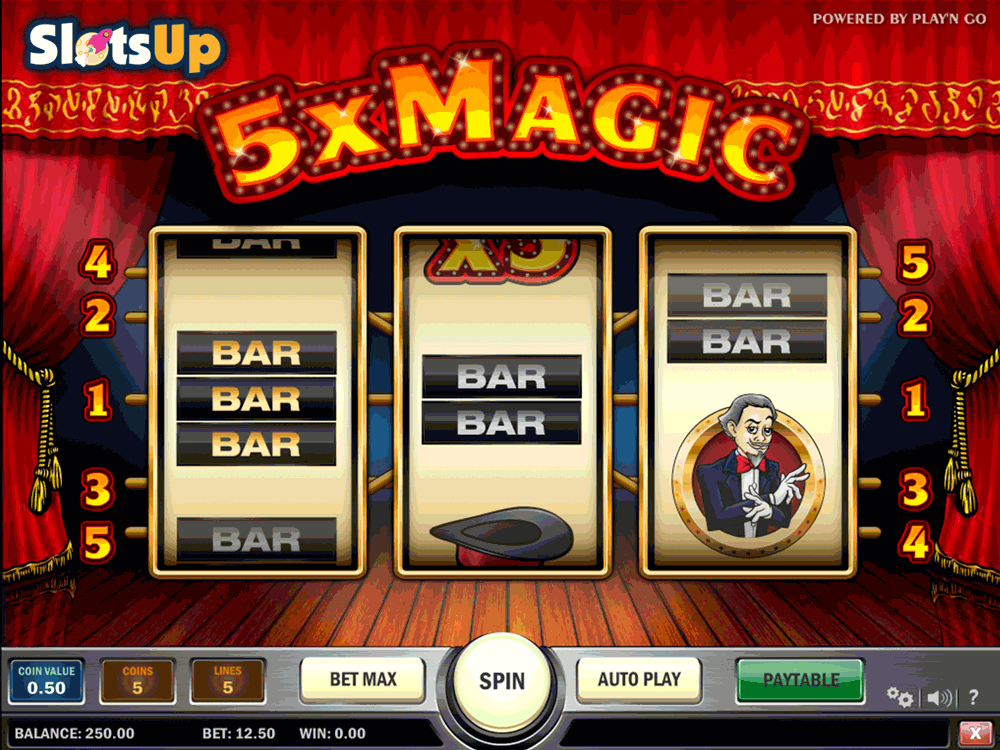 5X MAGIC PLAYN GO CASINO SLOTS