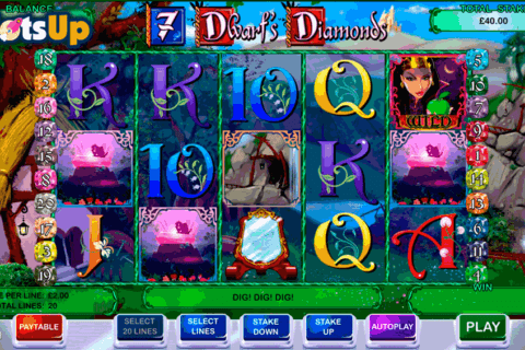 7 DWARFS DIAMONDS CAYETANO CASINO SLOTS